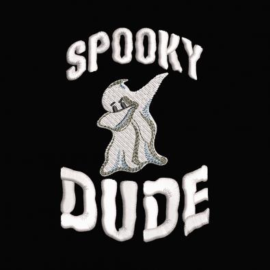 Spooky Dude Embroidery Design   Cre8iveSkill