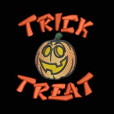 Trick Or Treat Cute Pumpkin