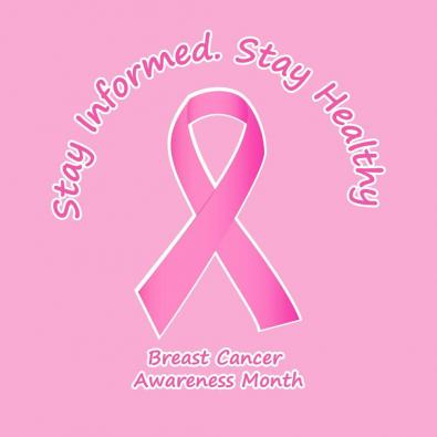 Breast Cancer - Pink Ribbon Vector Art