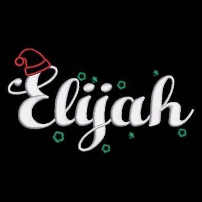 Elijah Hello Christmas