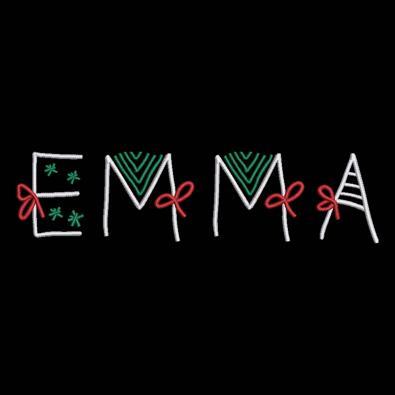 Emma Christmas Ribbon