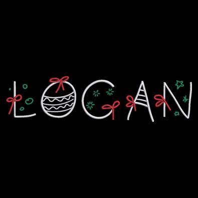Logan Christmas Ribbon