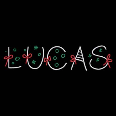 Lucas Christmas Ribbon