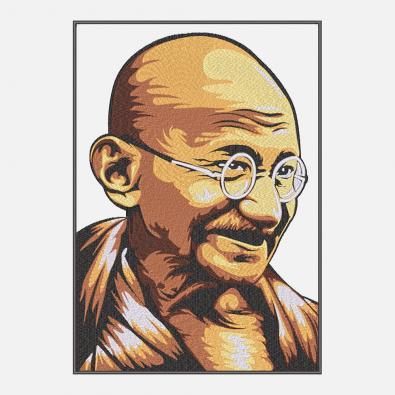 Mahatma Gandhi Portrait