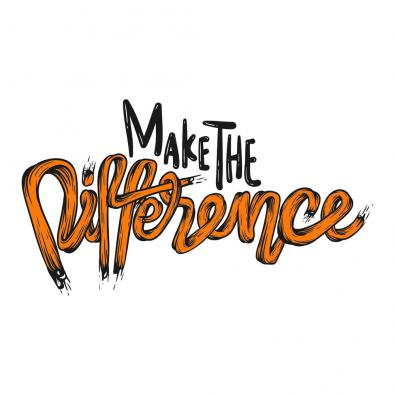 Make the difference typography