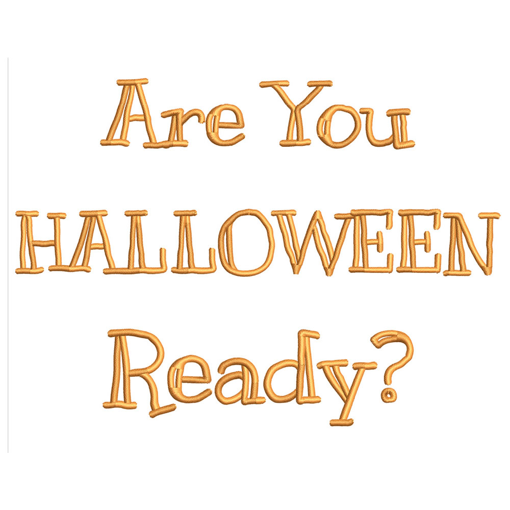 Are You Halloween Ready