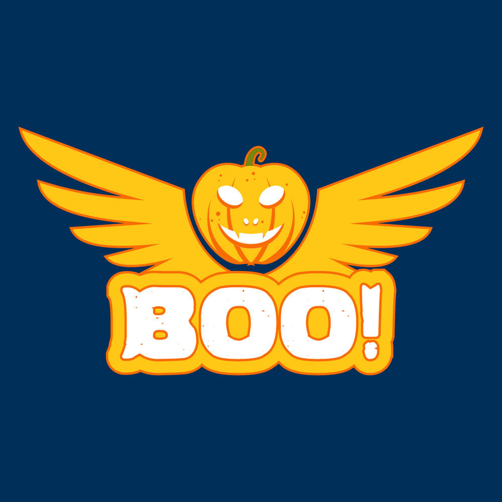 Boo The Scary Pumpkin