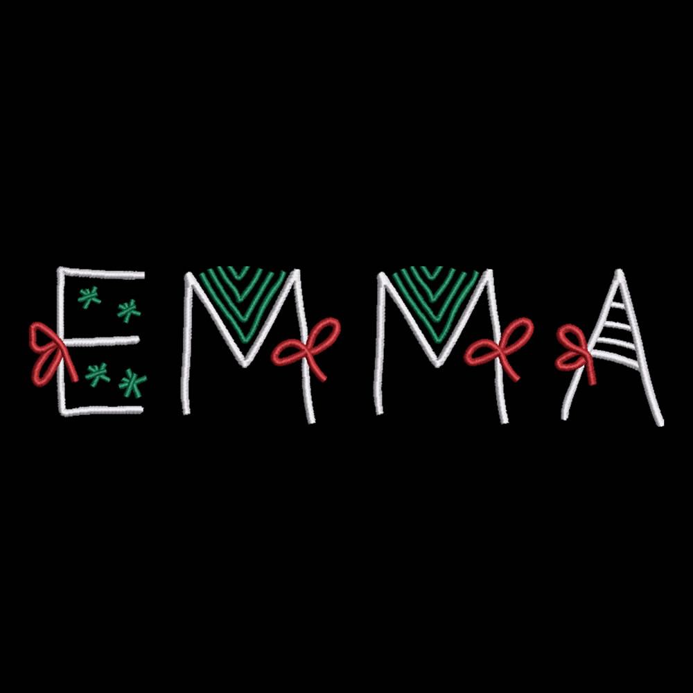 Emma Christmas Ribbon