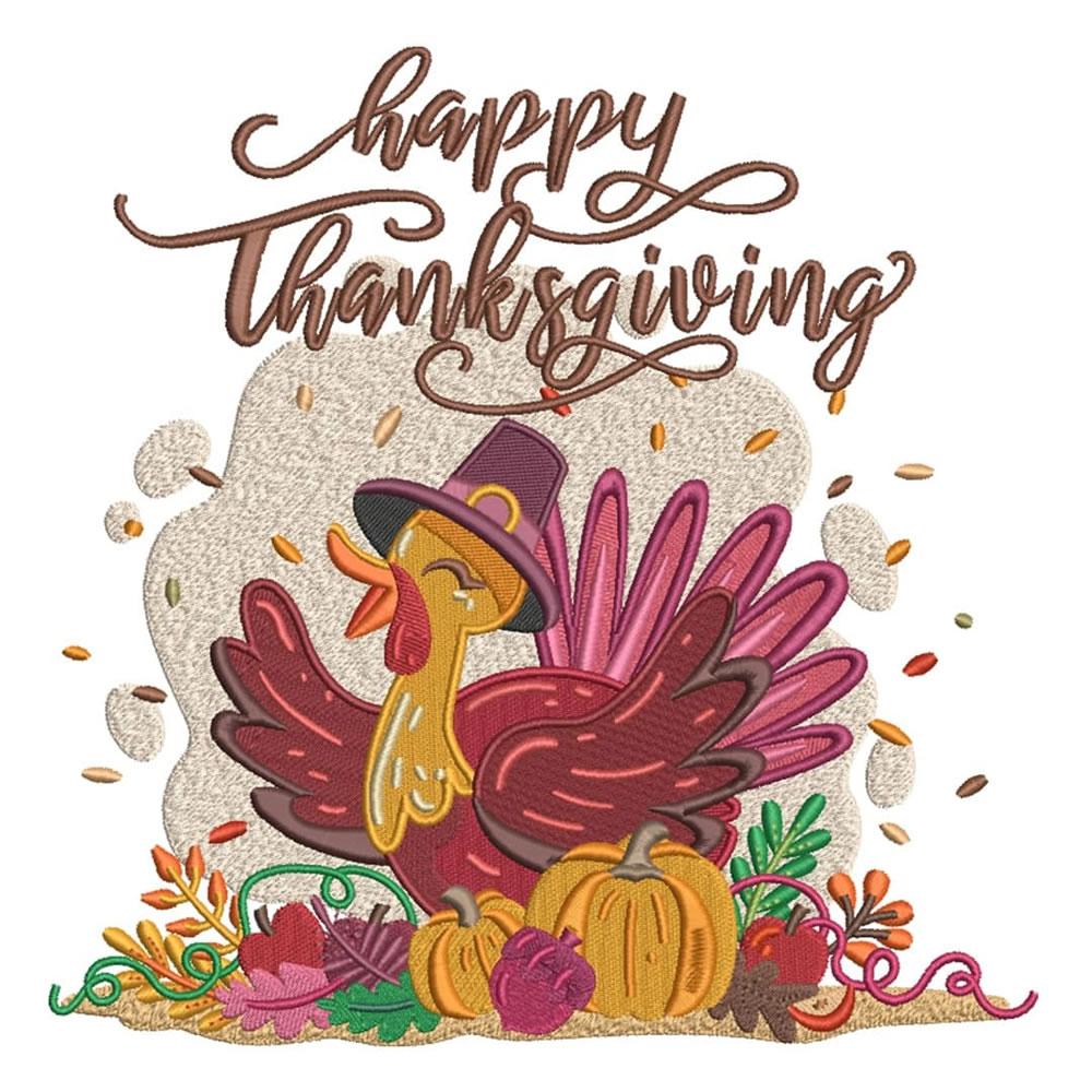 Festive Greetings - Thanksgiving