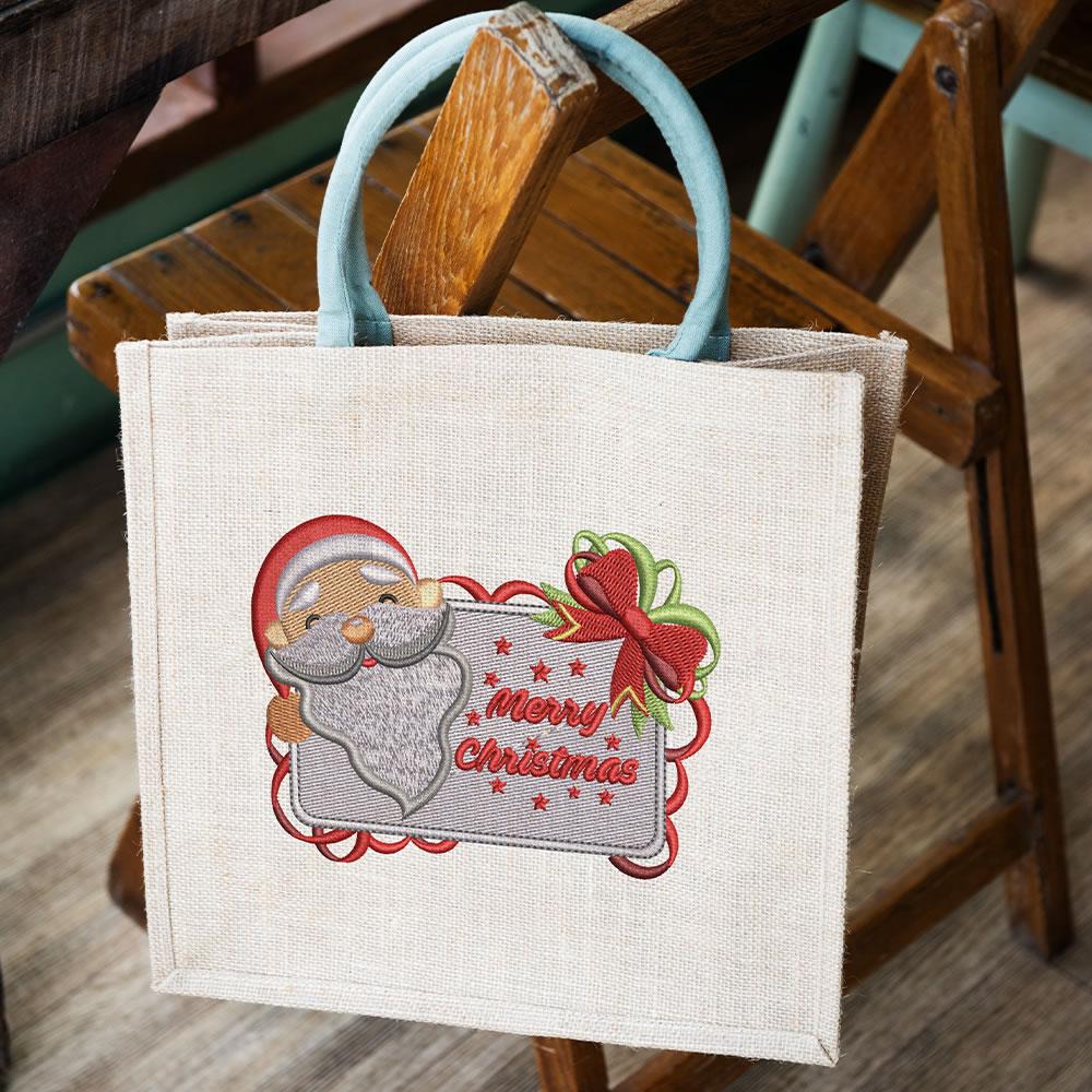Digitized Santa with Board Mockup3