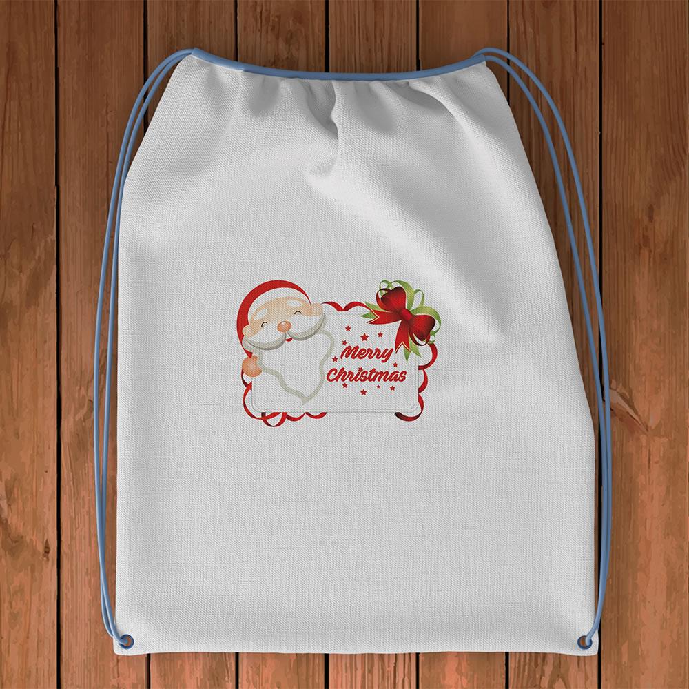 Santa With Board Mockup1