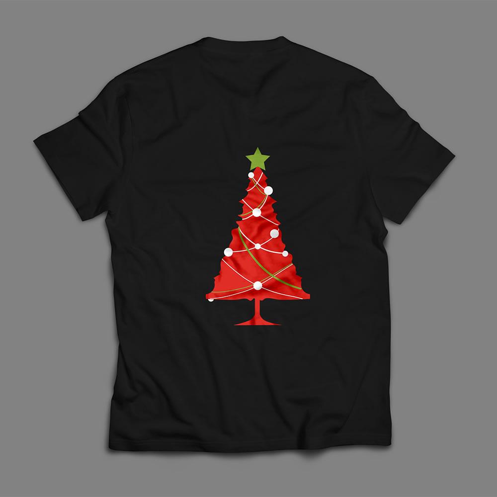 Christmas Tree Vector Art Mockup2