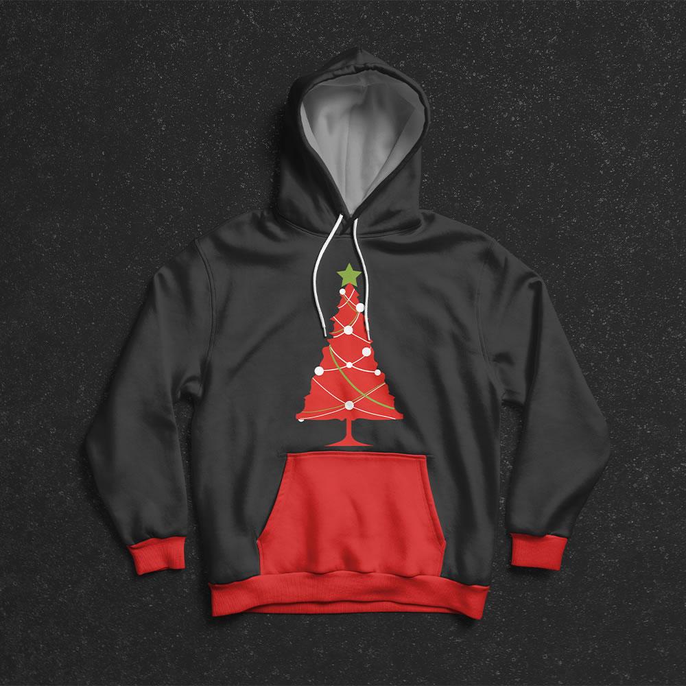 Christmas Tree Vector Art Mockup3