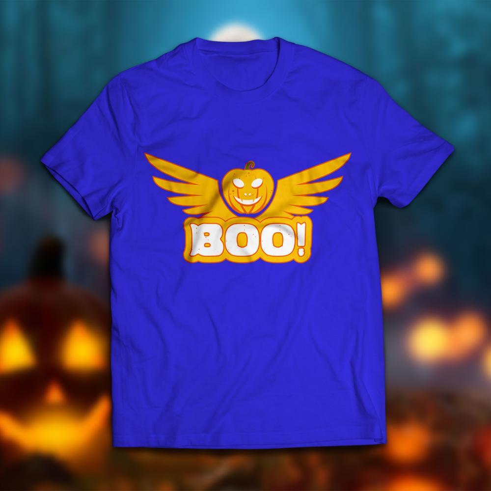 BOO Halloween T-Shirt mock up
