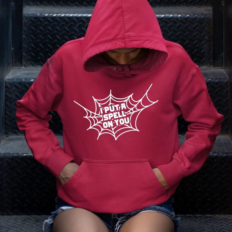 Vector spell on you Hoodie Mock Up