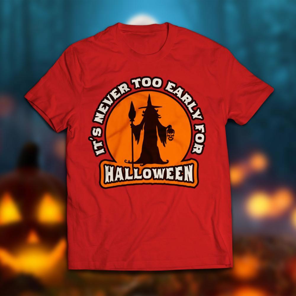 halloween vector graphics T-shirt Mock Up