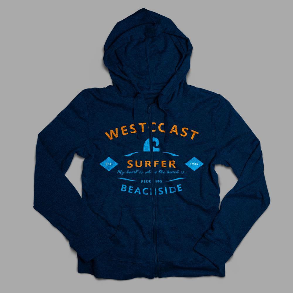 West Coast Hoodies Vector Art