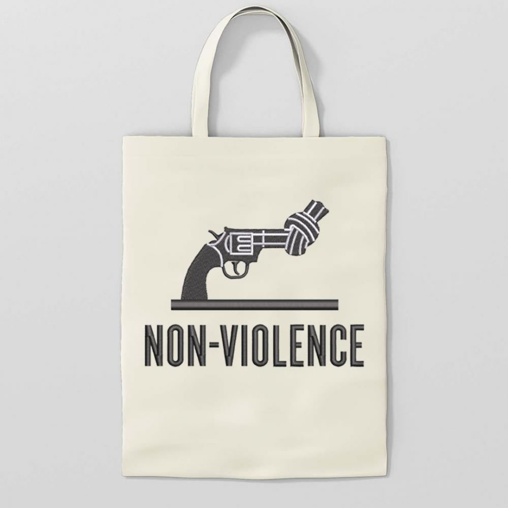 Stop Gun Violence Embroidery Design