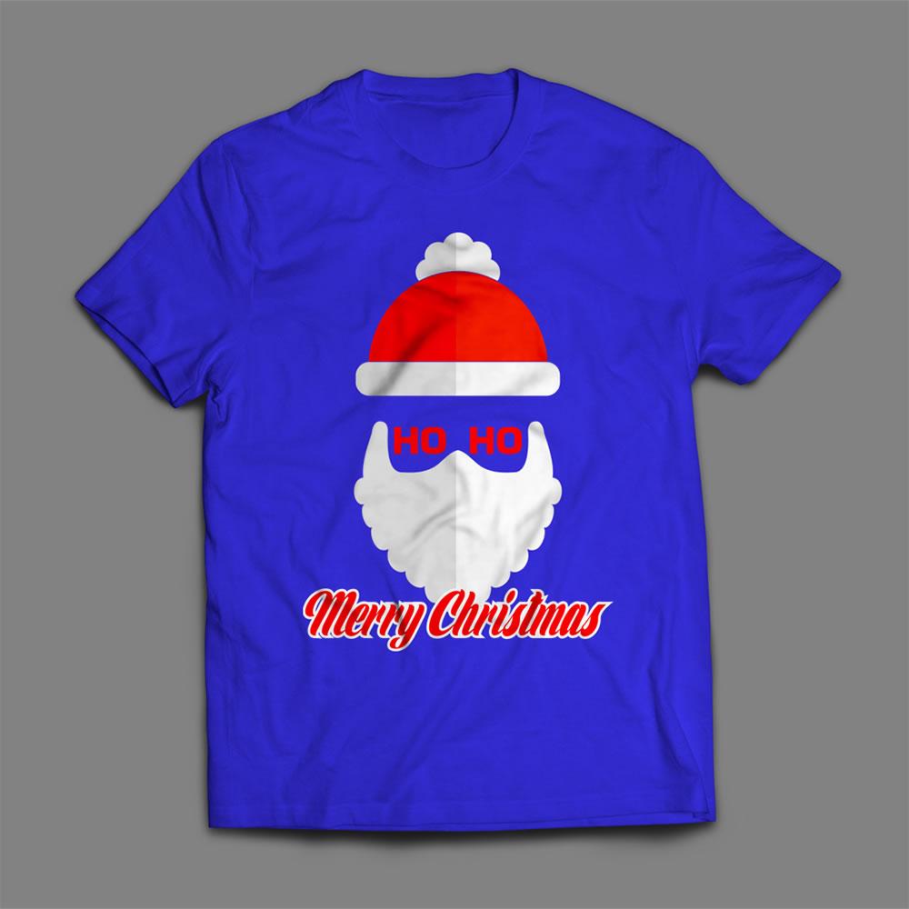 Santa claus vector mock up