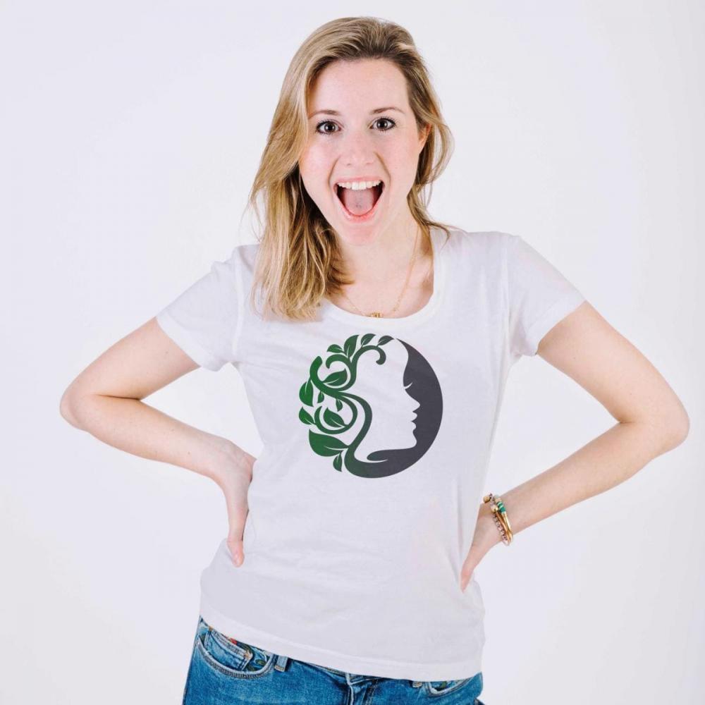 Vector Art T-shirt Mother Nature