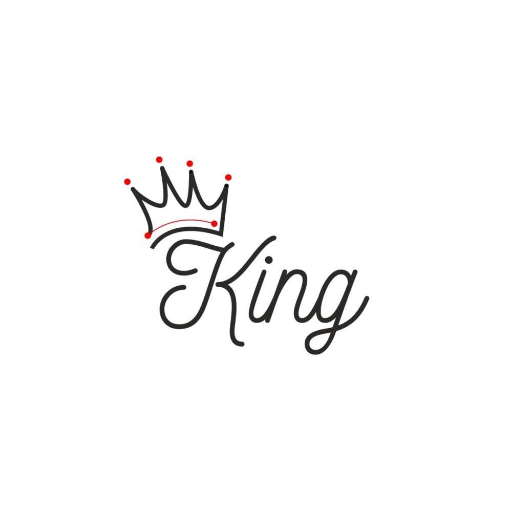 King Vector Line Art