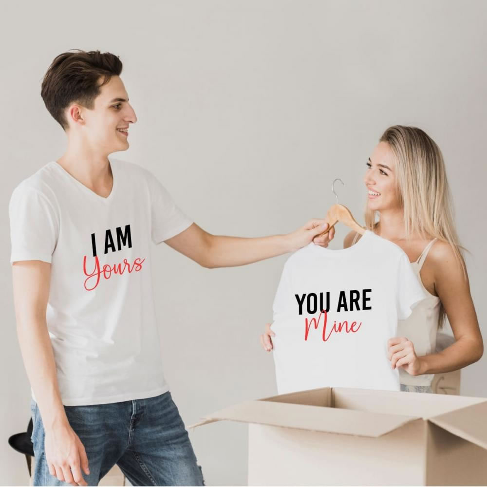 Couple T-shirt Vector Graphic