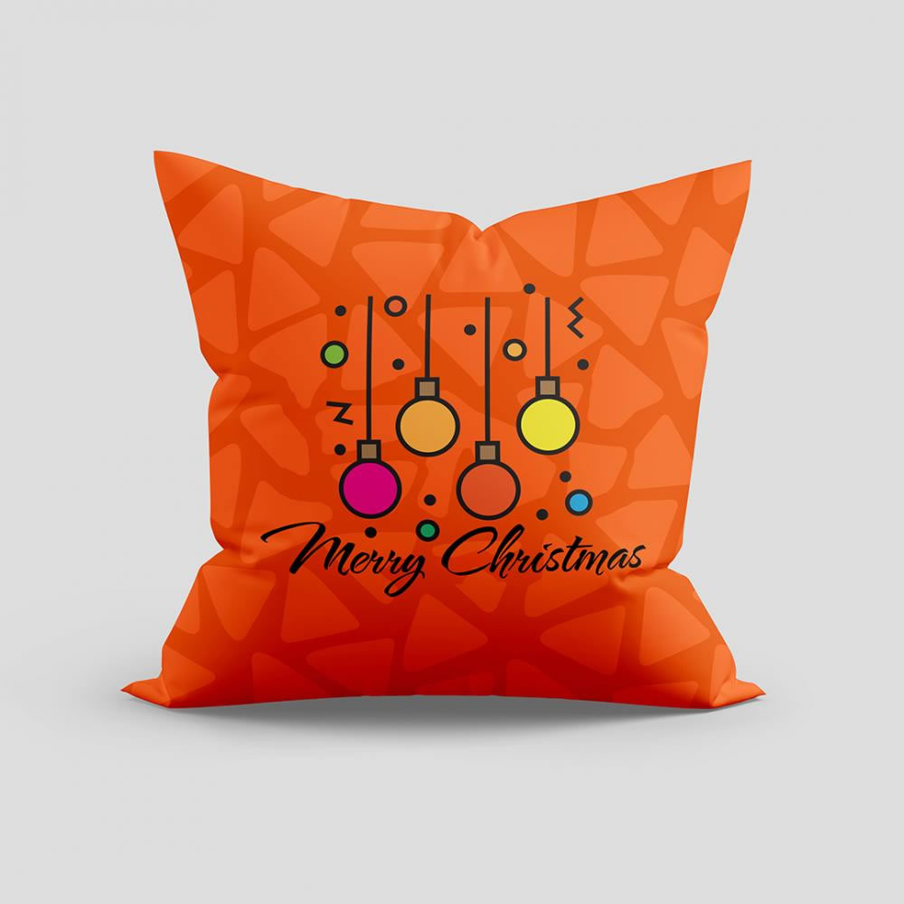 Merry Christmas Lamps vector