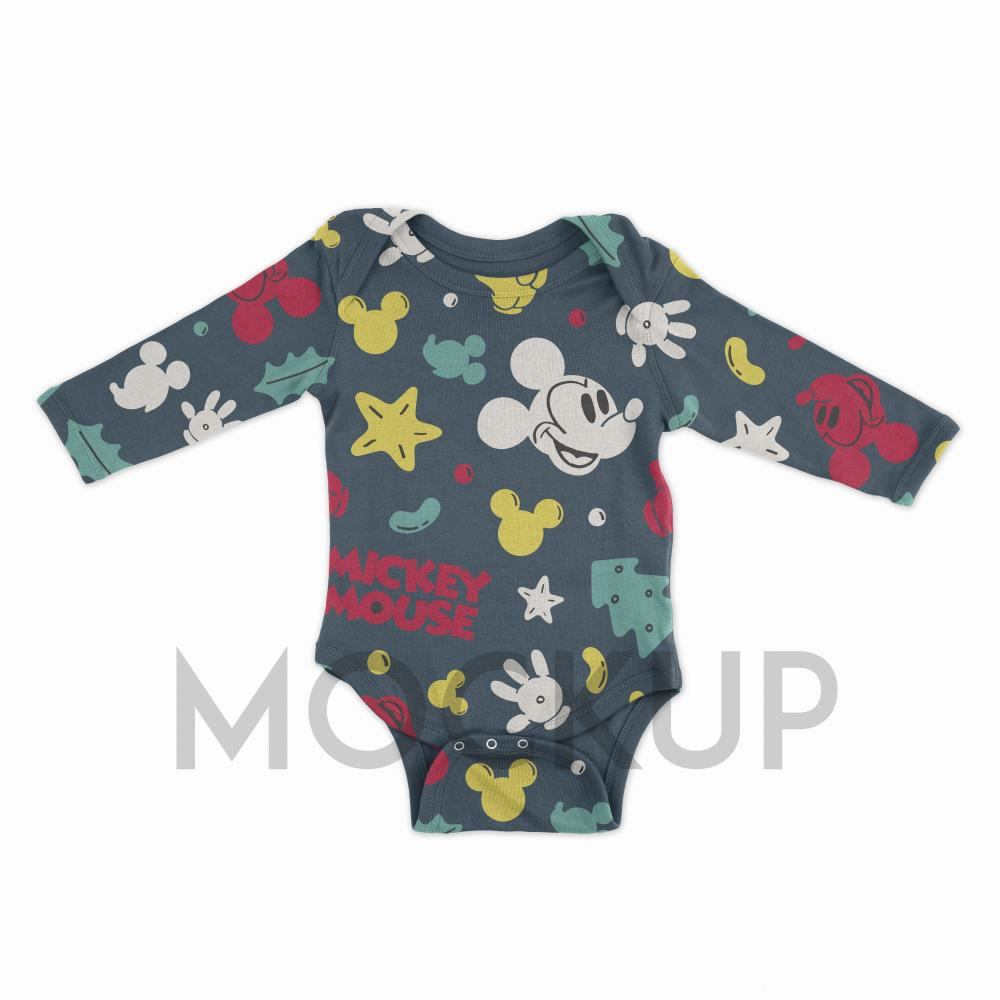 Mickey Mouse Pattern Mock Up