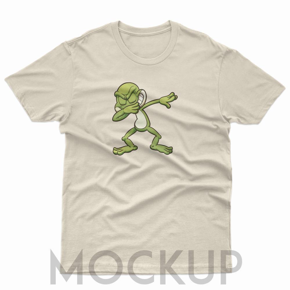 Vector Art Frog Posing