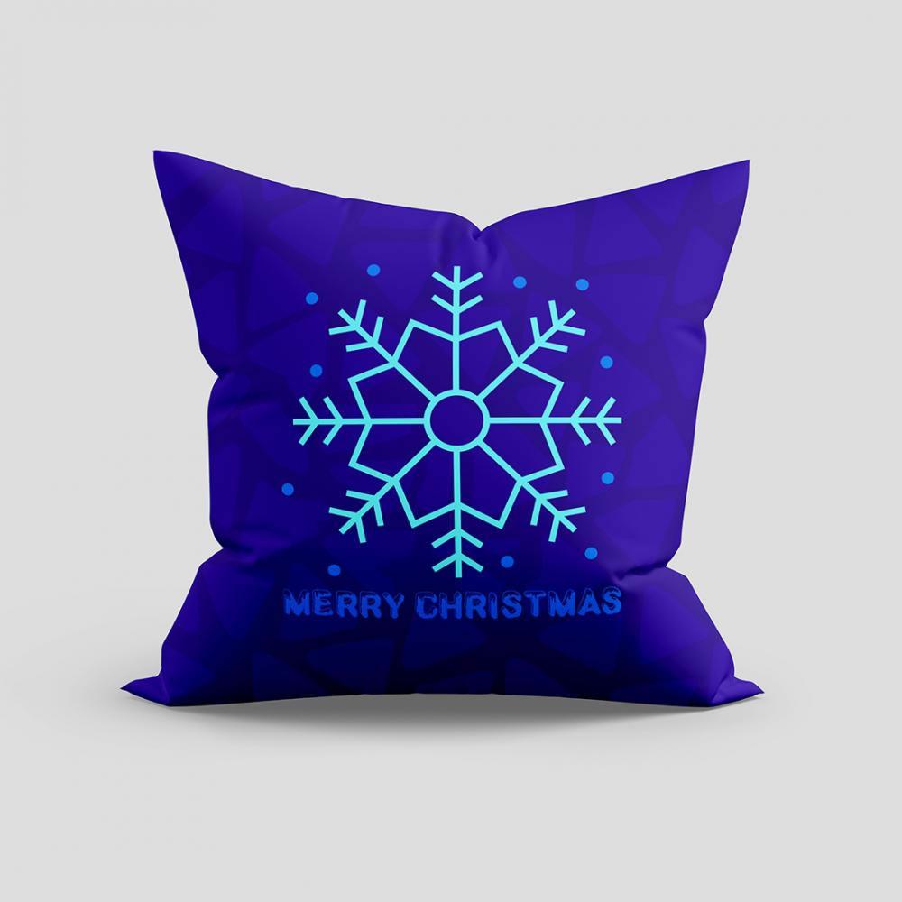 Merry Christmas Snowflakes vector
