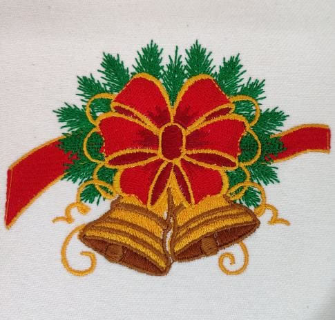 Digitized  Embroidery Christmas Tree
