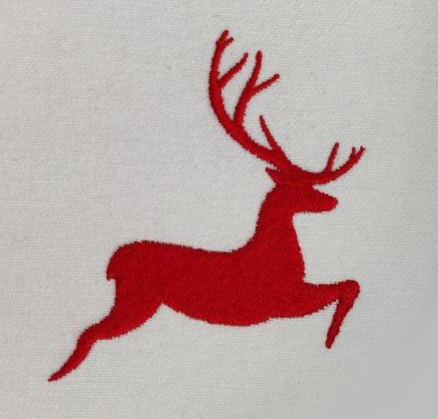 Reindeer Digitized Embroidery Design