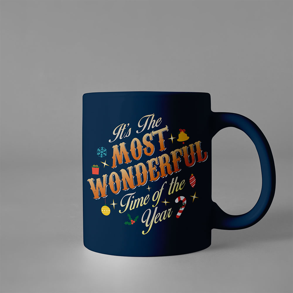 Most Wonderful Time -Typography art