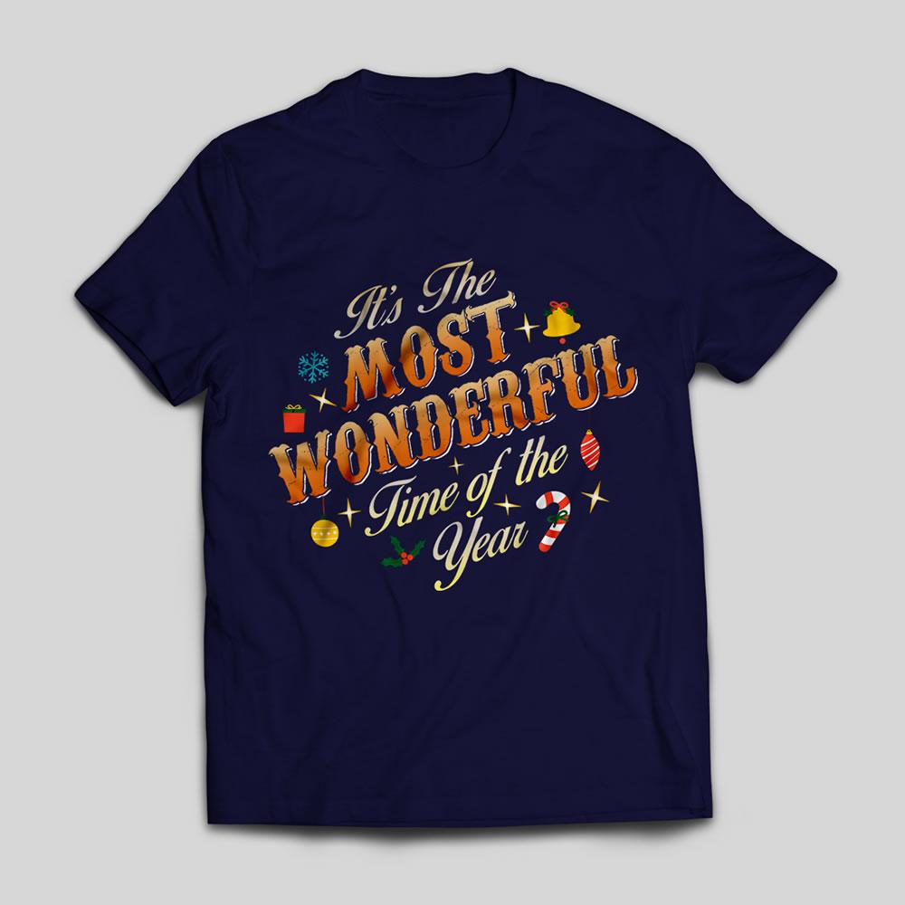 Typography art t-shirt mock up