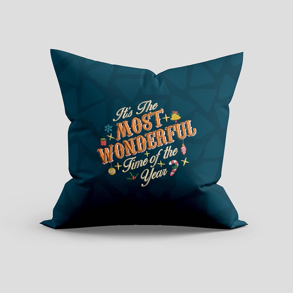 digitize Embroidery Design Cushion