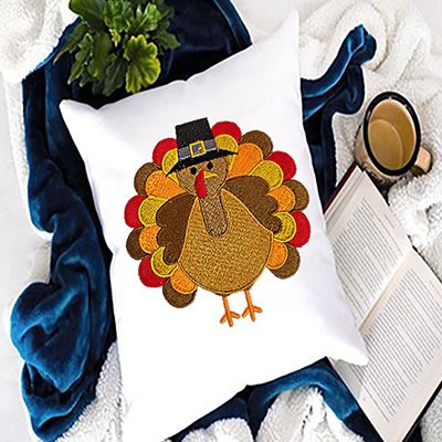 Digitized Turkey Embroidery Design