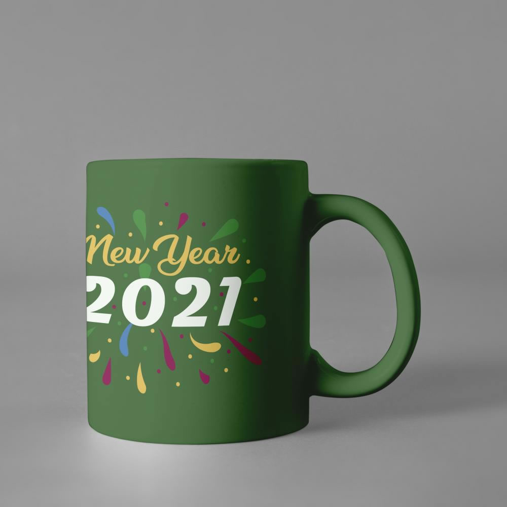 Wishing Happy New year Cup