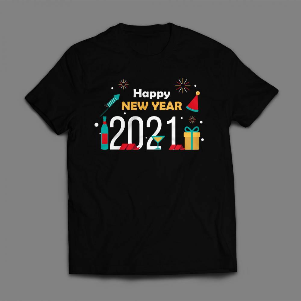Happy new year vector Art Design