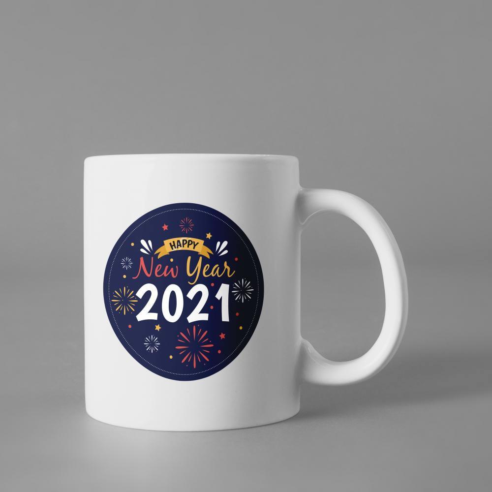 Happy new year vector Art Design Cup