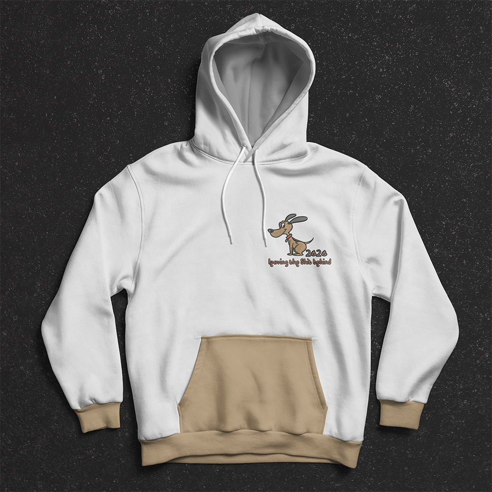Hoodies Dog Embroidery Design