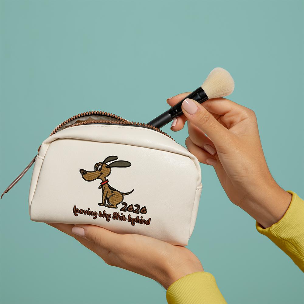 Dog Embroidery Design Bag