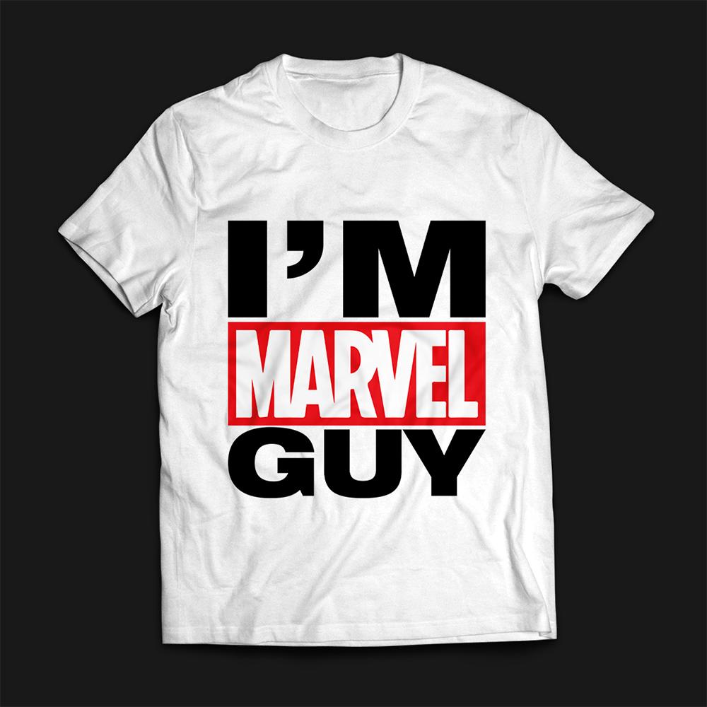 I'M Marvel Guy T-shirt Vector Art