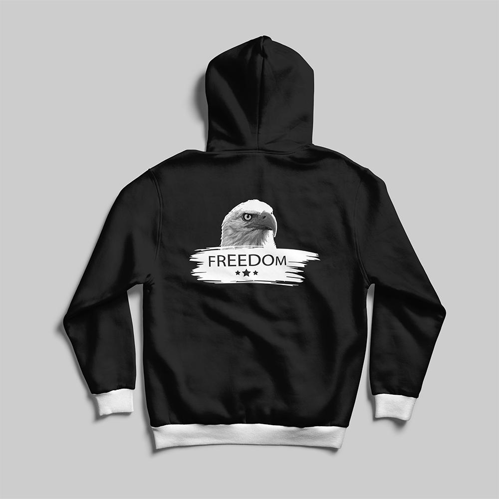 Freedom Eagle Hoodies