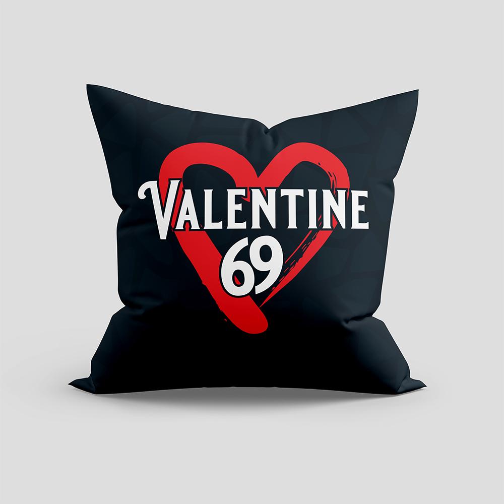 Valentine 69 Vector Cushion
