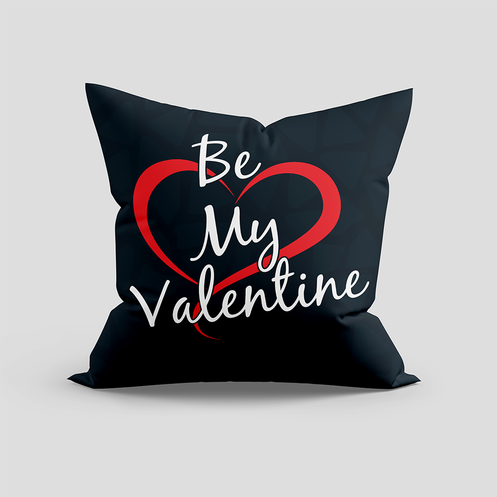Be My Valentine Cushion For Vector Art