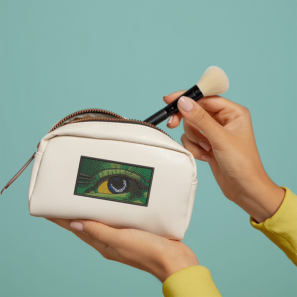 Eye Embroidery Design Bag