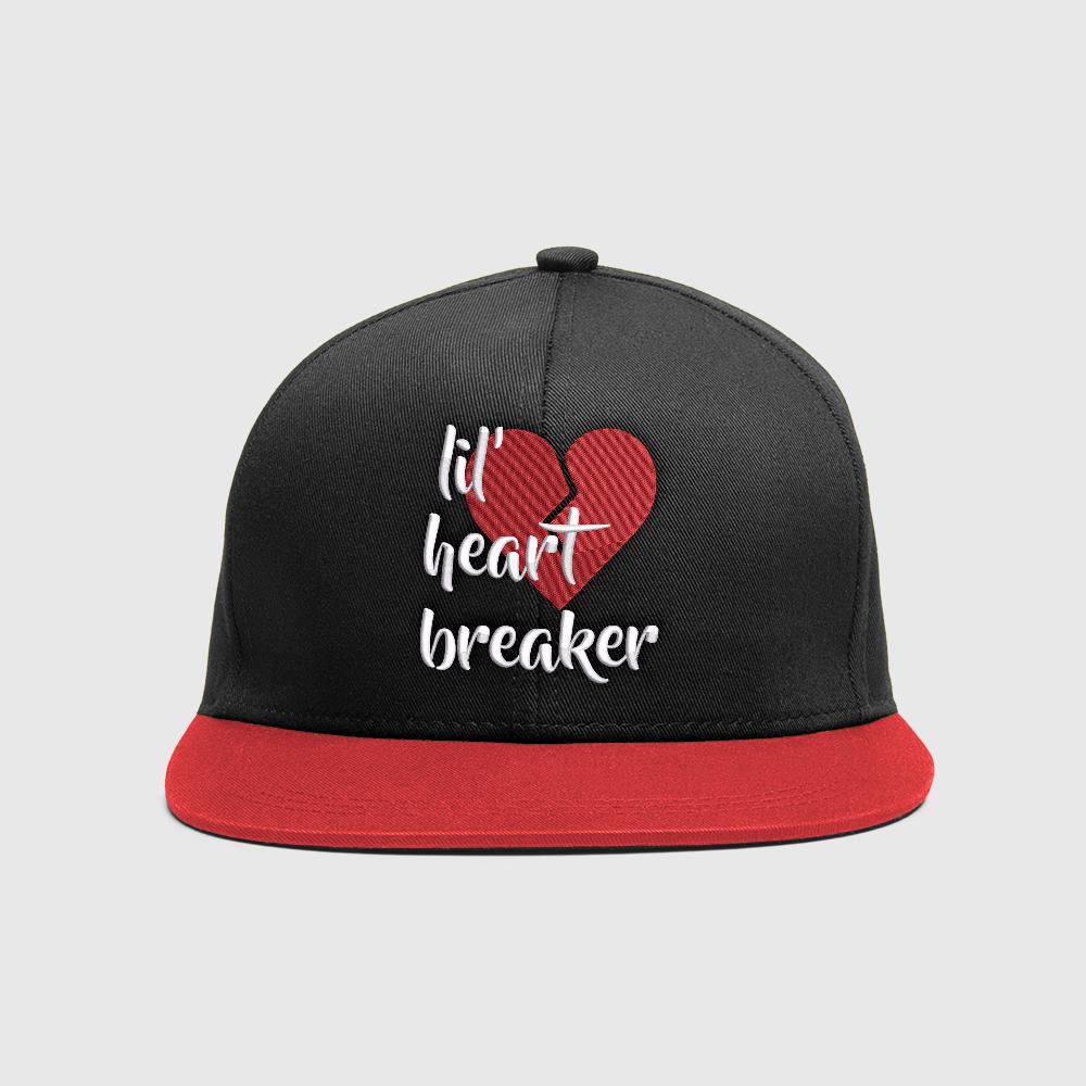 Embroidery Design: Lil' Heart Breaker Cap