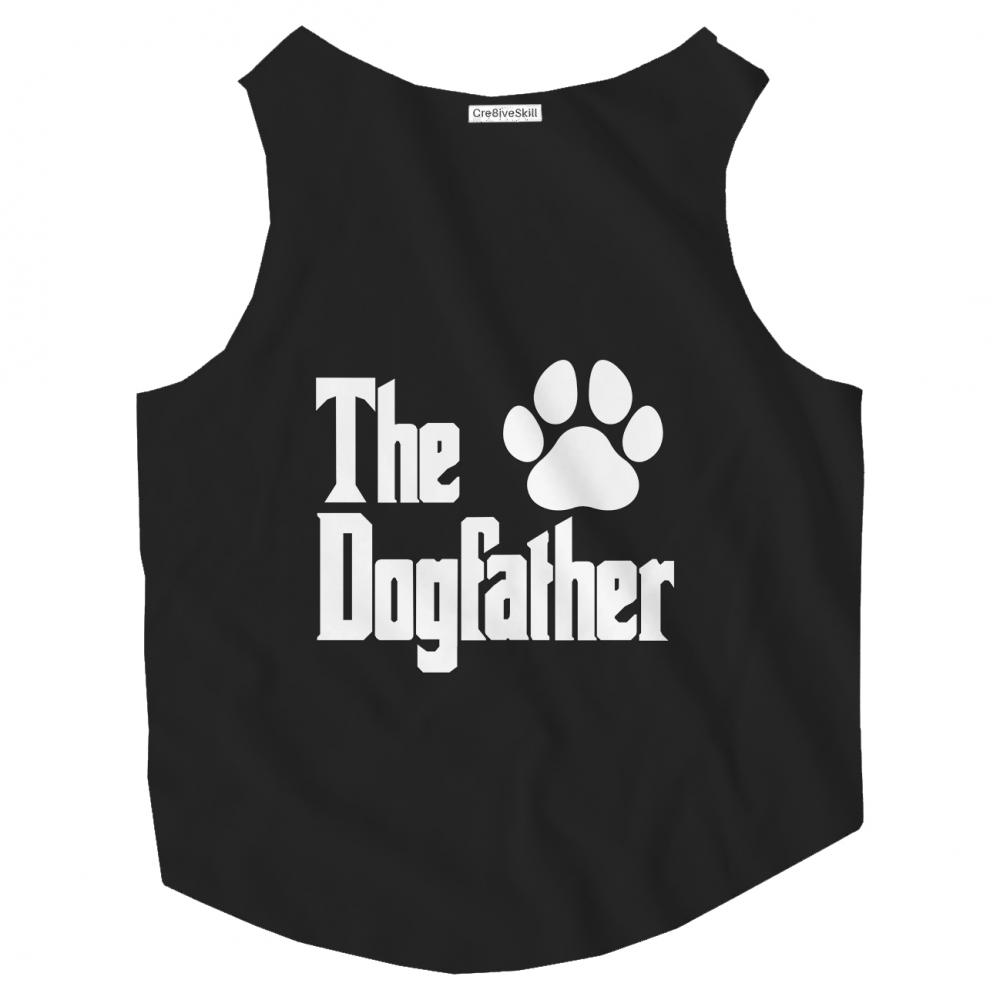 Dog T-shirt Vector art: The Dogfather