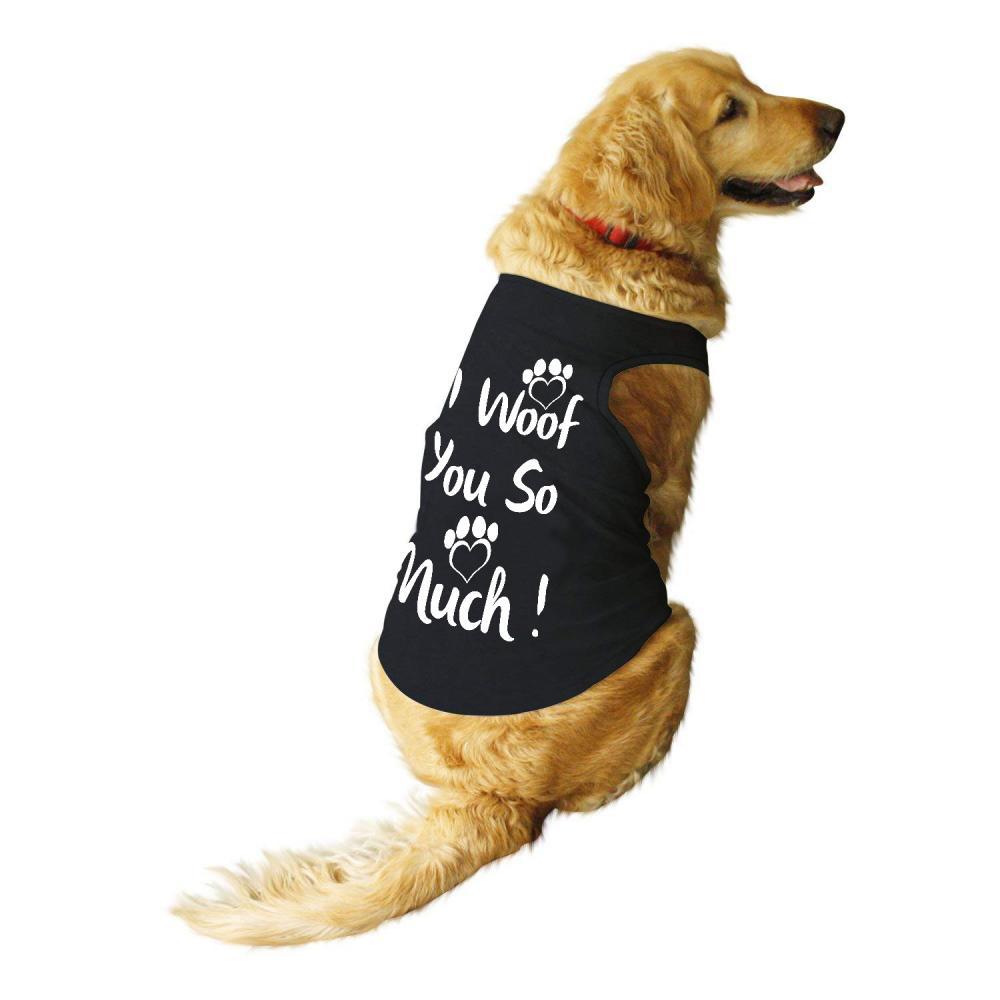 Vector Art: I Woof You So Much T-shirt