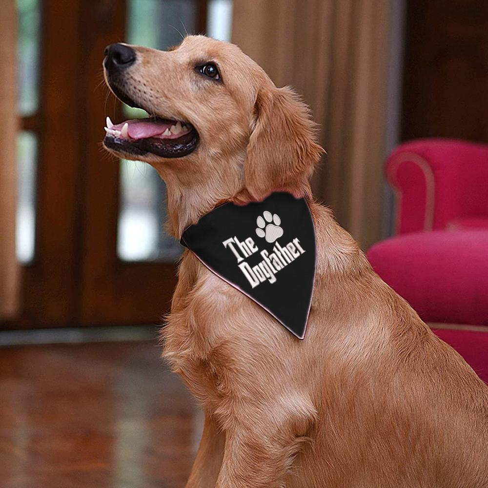 Dog Scarf Embroidery design: The Dogfather Paw